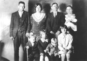 Charles Lawson and family