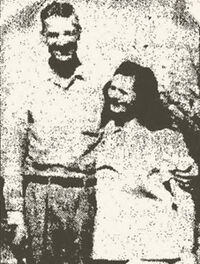 Mary Sartin with husband