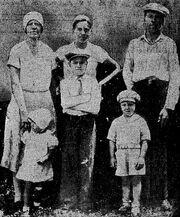 William Albers and family