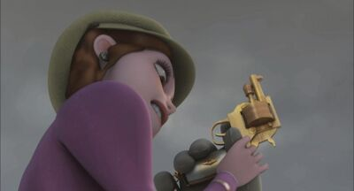Lucille gun struggle