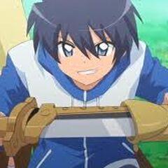 Leon al recibir la espada de su papa
