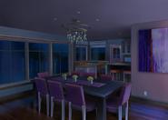 Casa do Nathaniel e Ambre Sala de Jantar Noite