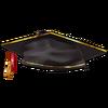 Chapéu de Graduação Dourado