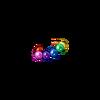 Pulseira Esferas Arco-Íris
