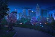 Parque noite