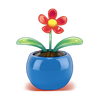 Flor de plástico