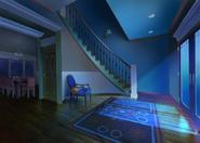 Casa do Nathaniel e Ambre Entrada Principal Noite