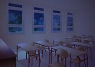 Sala de aula a V2 noite