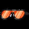 Óculos de Sol Laranja (cabeça)