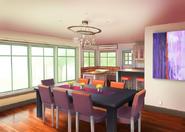 Casa do Nathaniel e Ambre Sala de Jantar
