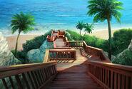 Escadaria da praia