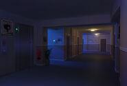 Corredor quartos noite