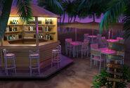 Bar da praia (noite)