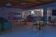 Café interior noite