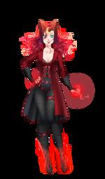 Halloween 2019 Red Sorceress