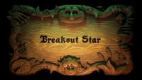 Breakout Star Title card