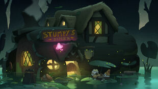 Stumpy's Diner before Frog-Thai fusion conversion