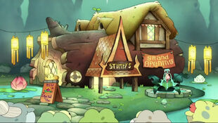 Stumpy's Diner after Frog-Thai fusion conversion