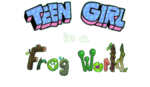 Teen Girl in a Frog World Logo