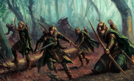 Melenki leading a group of soldiers