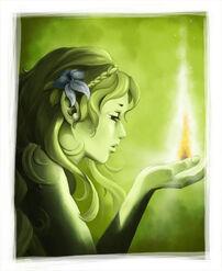 Green-elf female