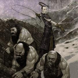 Dwarf slaves