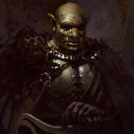 Ki - an orc clan chief