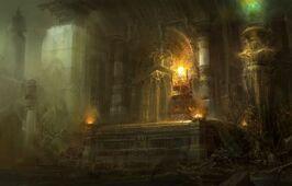Evil tomb
