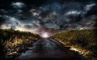 Brokeden road