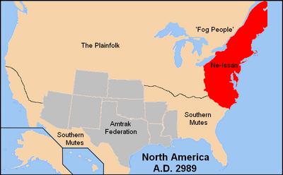North America Amtrak names