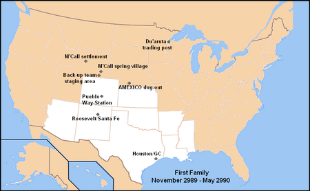 First Family Map