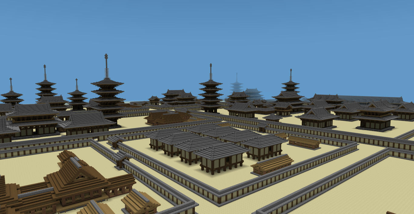 Minecraft Japanese Structures