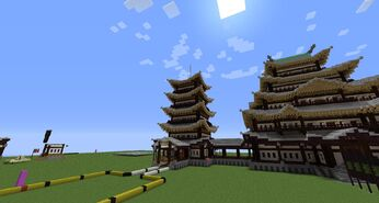 Minecraft Japanese Bridge build-a-world project | amythyst's sandbox wiki | fandom powered