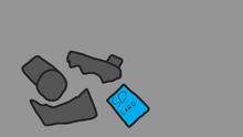 SD Card on floor