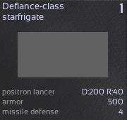 6 Defiance-class starfrigate
