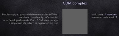 GDM complex