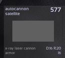 Autocannon satellite