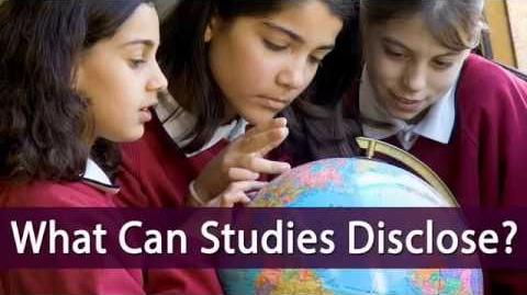 What Can Studies Disclose?