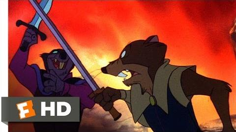 The Secret of NIMH (8 9) Movie CLIP - Justin Duels Jenner (1982) HD