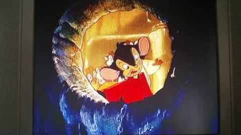 An American Tail Fievel Goes West cat attack scene