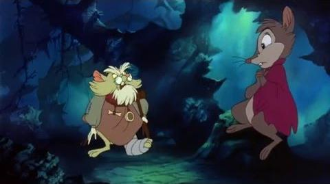 The Secret Of NIMH (1982) Mrs. Brisby goes to rosebush Brutus Mrs. Brisby meets Mr. Ages