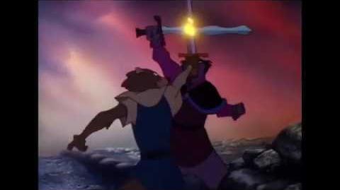 Secret of Nimh 1982 Sword Fight