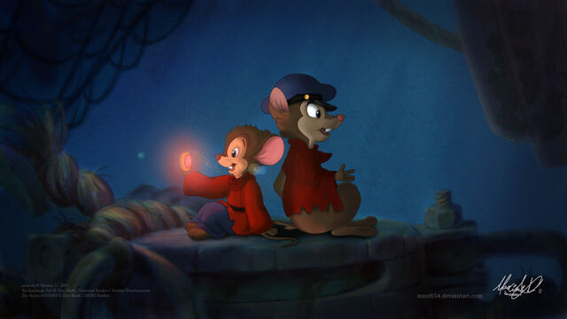 File:Fievel and mrs brisby sharing by maxl654-d3htqmn.jpg