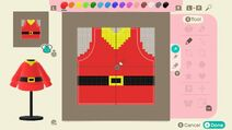 Fievels cowboy sleeves from Animal Crossing New Horizons