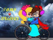 Tony and Bridget fan art
