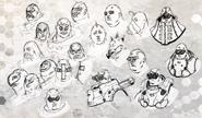 Oinkie Face Concept Art