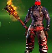 Bari Shur-Flaming Bat