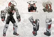 Cybrid Joe Concept Art
