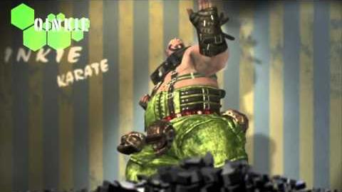 Anarchy Reigns - Oinkie Character Trailer HD
