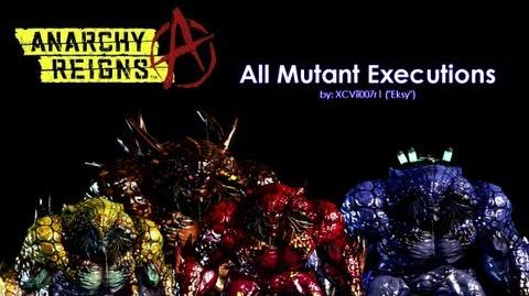 Anarchy Reigns - All Mutant Executions Finishers